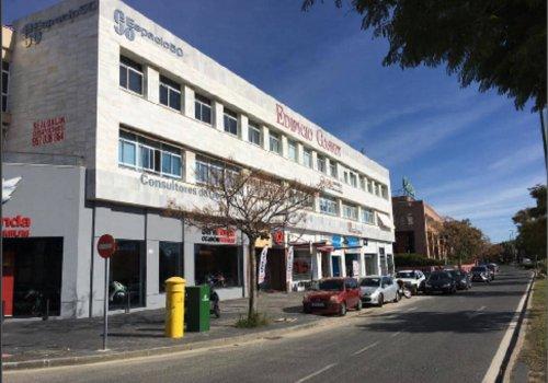 Cruz de Humilladero, Ortega y Gasset, San Rafael, Málaga, oficina, local