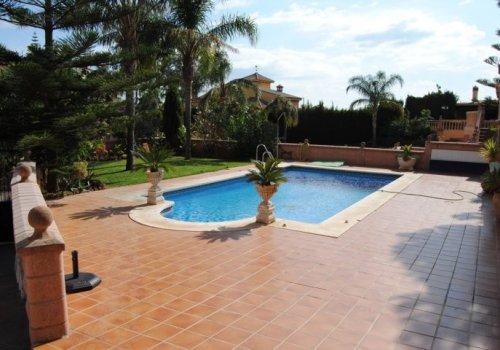 La Sierrazuela, Mijas, Málaga, villa, independent villa
